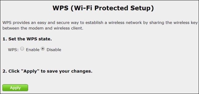 disable-wps-on-router4