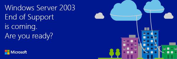 اتمام پشتیبانی مایکروسافت از ویندوز 2003